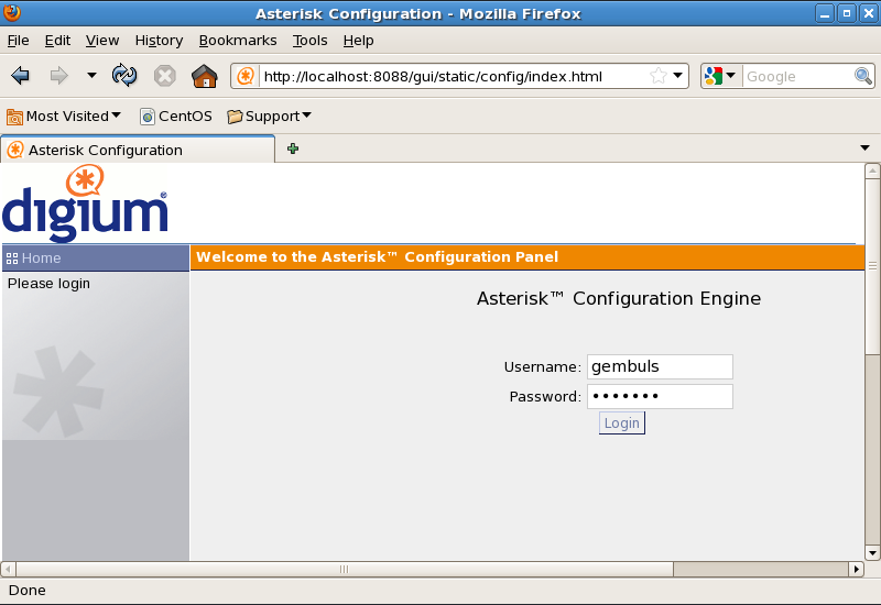 How to Install Asterisk-GUI